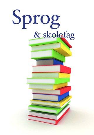 Sprog og skolefag