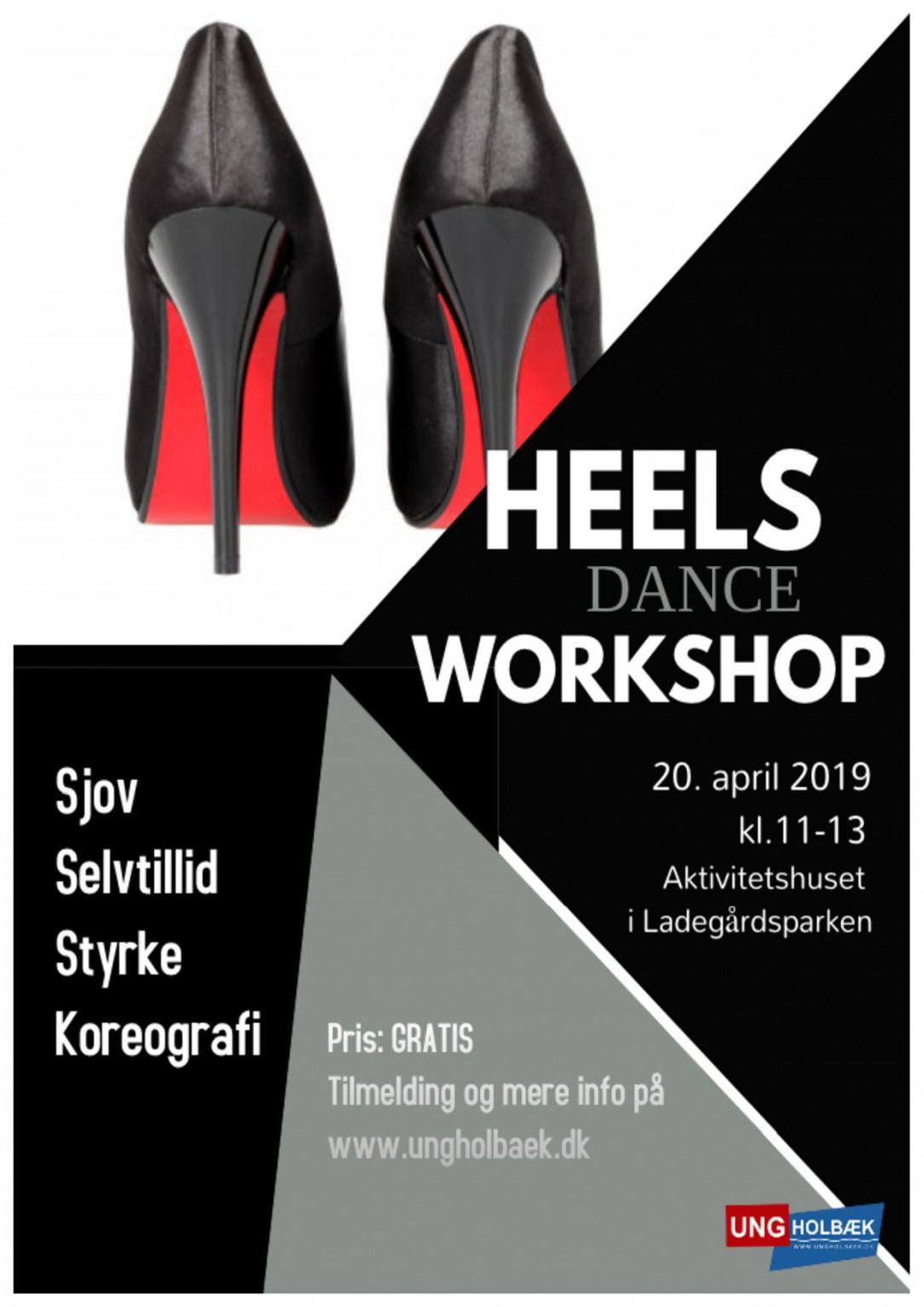 Dance Heels Workshop - Påskeferien 2019