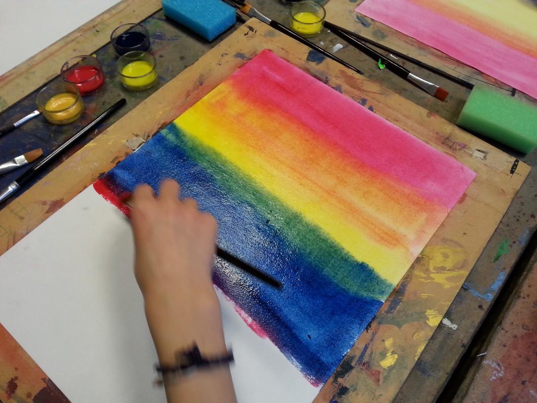 Billedkunst Atelie og billedværks uge 29