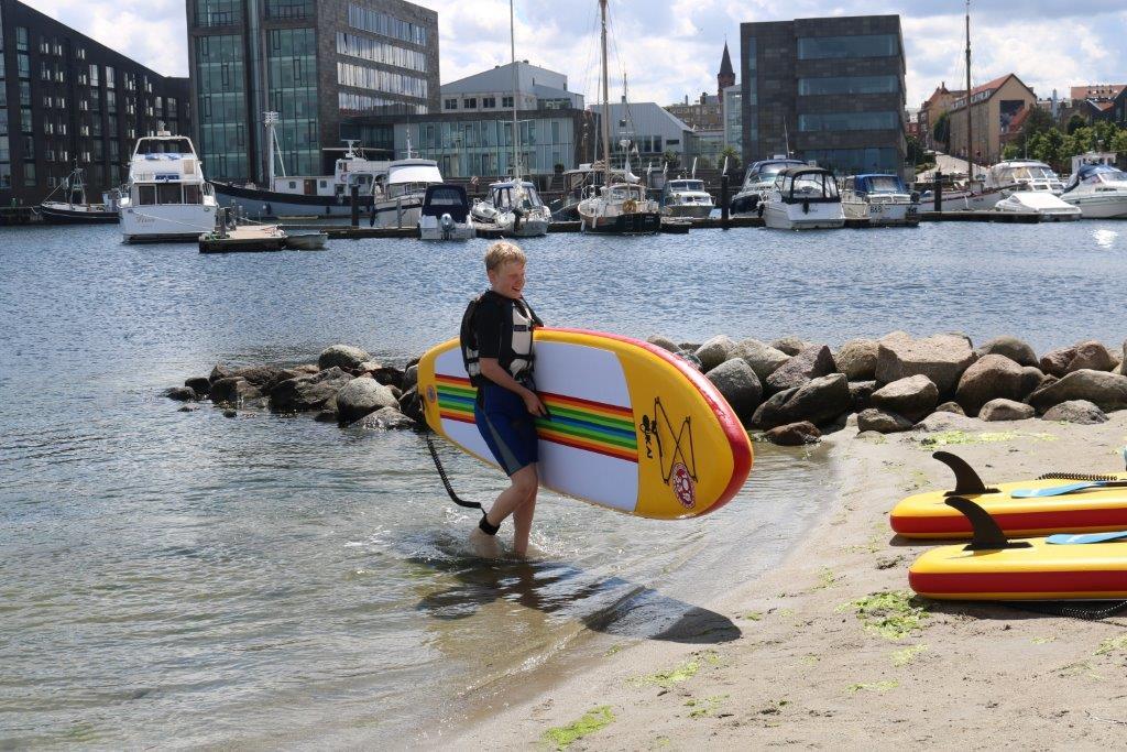 Sup Board på stranden  (7)